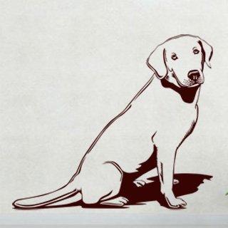 Samolepka Labrador 003 - 92x80 cm