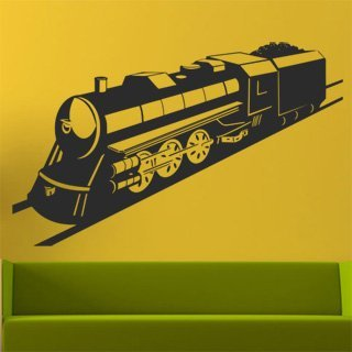 Samolepka na zeď Vlak 004 - 98x60 cm