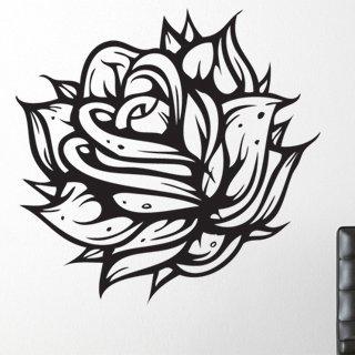 Nálepka na zeď Růže 005 - 120x118 cm