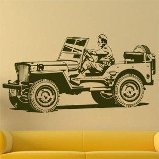 Samolepící dekorace Auto 027 - 197x100 cm