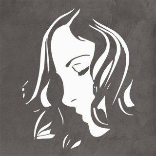 Samolepka Žena 043 - 80x100 cm