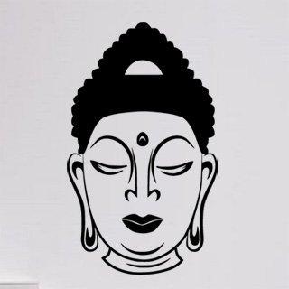 Samolepka Hlava Budhy 1292 - 100x169cm