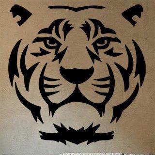 Samolepka Tygr 007 - 80x82 cm