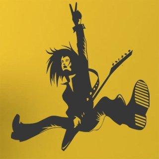 Samolepka na stěnu Kytarista 007 - 120x129 cm