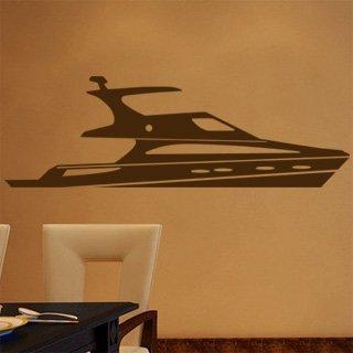 Samolepka na zeď Loď 013 - 120x39 cm