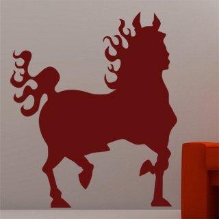 Samolepka Kůň 016 - 80x94 cm