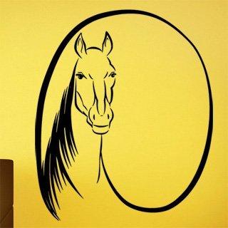 Samolepka Kůň 0331 - 85x100 cm