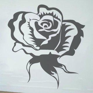Samolepka Růže 004 - 80x84 cm