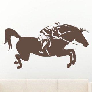 Samolepící dekorace Žokej 003 - 148x80 cm