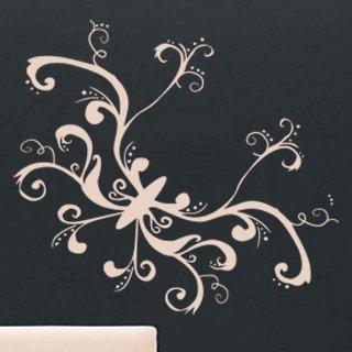 Samolepka na zeď Motýl 016 - 67x60 cm