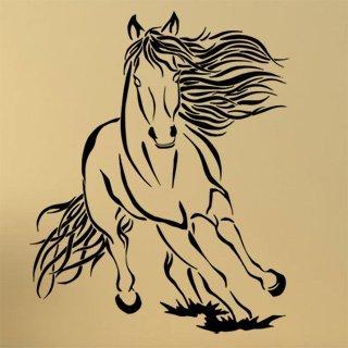 Nálepka na zeď Kůň 0401 - 120x150 cm