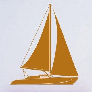Samolepící dekorace Plachetnice 013 - 100x117 cm