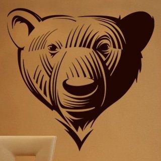 Samolepka na zeď Medvěd 001 - 63x60 cm