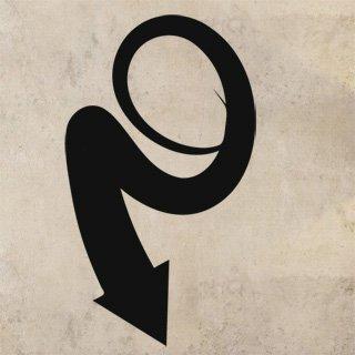 Nálepka na zeď Šipka 037 - 100x175 cm