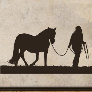 Samolepka na zeď Kůň 0403 - 120x63 cm