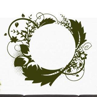 Samolepka Ornamenty z rostlin 029 - 143x120 cm