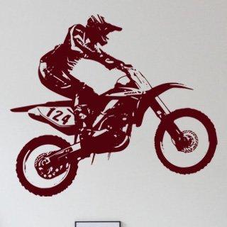 Samolepící dekorace Motorka 008 - 138x120 cm
