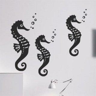 Samolepící dekorace Mořský koník 001 - 115x100 cm