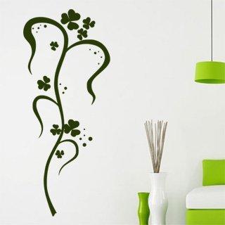 Samolepka na zeď Ornamenty z rostlin 035 - 51x120 cm