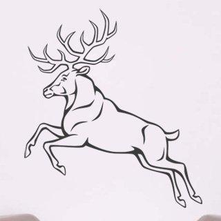 Samolepka Jelen 005 - 80x90 cm