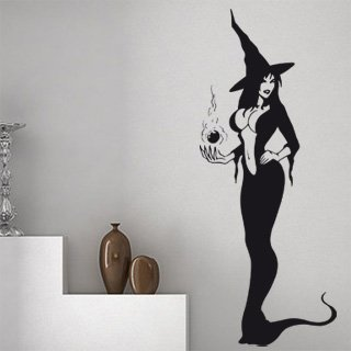 Samolepka na zeď Dívka 001 - 60x149 cm