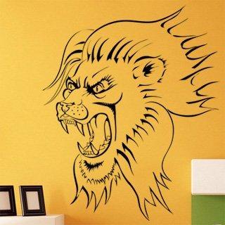 Samolepící dekorace Lev 002 - 98x120 cm