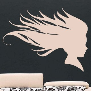 Samolepka Žena 013 - 106x80 cm