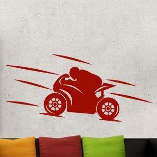Samolepící dekorace Motorka 022 - 178x80 cm