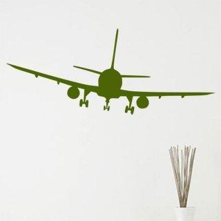 Samolepící dekorace Letadlo 008 - 196x80 cm