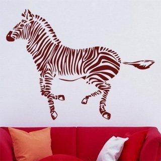Samolepka na zeď Zebra 012 - 108x80 cm