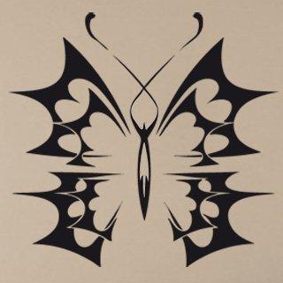 Samolepka na stěnu Motýl 009 - 127x120 cm