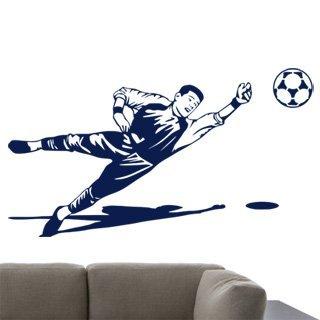 Samolepka na zeď Fotbalista 012 - 108x60 cm