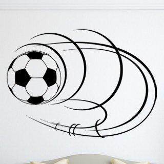 Samolepka na zeď Fotbalový míč 006 - 83x60 cm