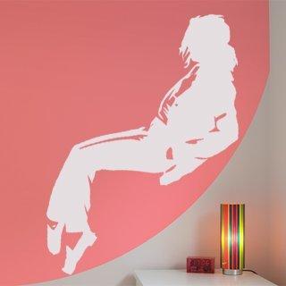 Samolepka na zeď Michael Jackson 002 - 49x120 cm