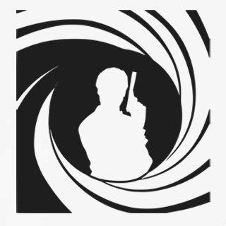 Samolepka na zeď James Bond 002 - 60x64 cm