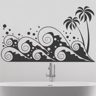 Samolepící dekorace Palmy 005 - 136x80 cm