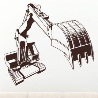 Samolepka Bagr 002 - 112x100 cm
