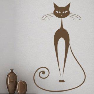 Nálepka na zeď Kočka 012 - 100x172 cm