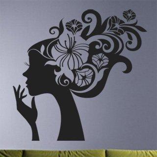Samolepící dekorace Slečna 003 - 123x120 cm