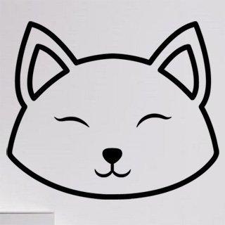Samolepka Kočka 0503 - 100x84 cm