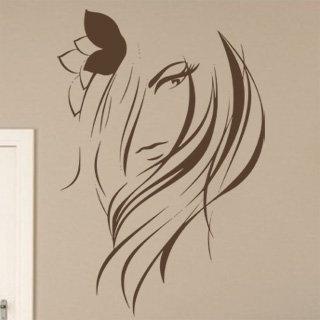 Nálepka na zeď Žena 019 - 120x178 cm