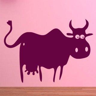 Samolepka na zeď Kráva 004 - 84x60 cm