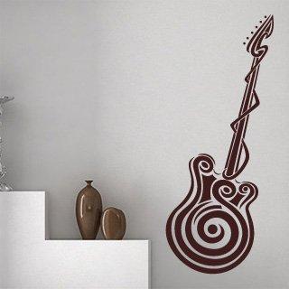 Nálepka na zeď Kytara 001 - 100x242 cm