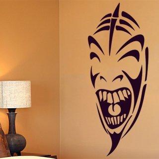 Samolepka na zeď Maska 002 - 120x48 cm