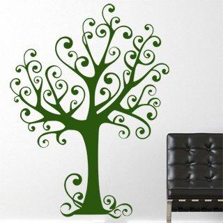 Samolepící dekorace Strom 023 - 100x136 cm