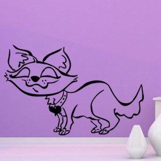 Samolepka Kočička 006 - 124x80 cm