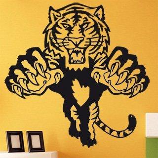 Samolepící dekorace Tygr 003 - 120x120 cm