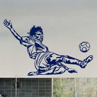 Nálepka na zeď Fotbalista 005 - 160x100 cm