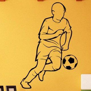 Nálepka na zeď Fotbalista 0593 - 120x182 cm