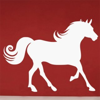 Samolepka na stěnu Kůň 019 - 157x120 cm